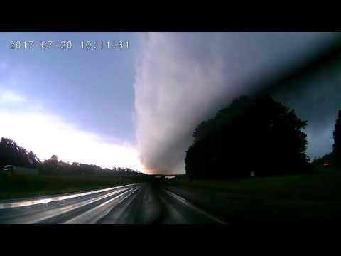 Western NY Tornado Touchdown (07/20/17)