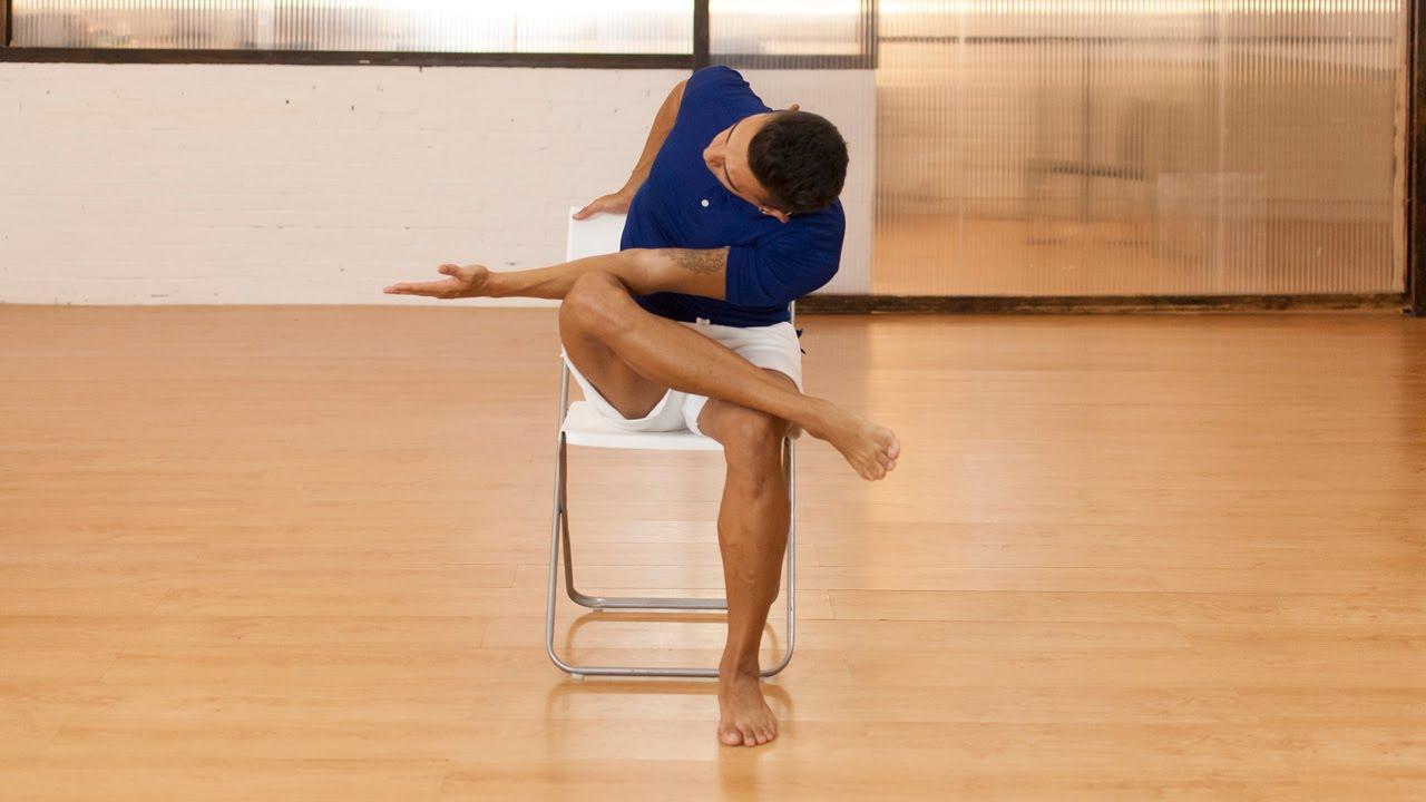 Ejercicios de pilates para realizar en el trabajo sentado