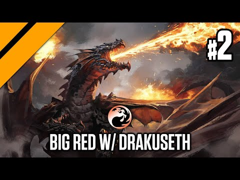 MTG - Theros Beyond Death - Bo1/Bo3 Constructed - Big Red w/ Purphoros & Drakuseth P2