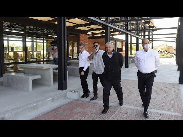 Acciones de mejoramiento urbano, desde Piedras Negras, Coahuila