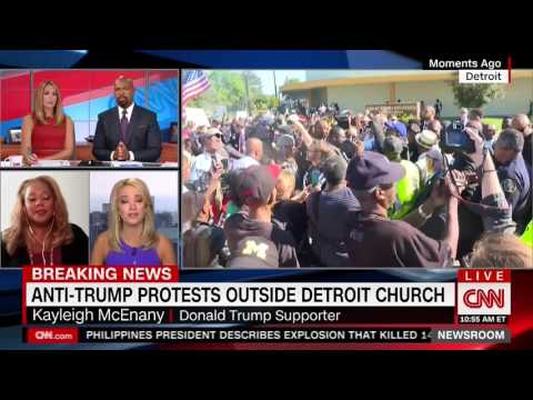 CNN's Tara Setmayer Takes Down Trump Supporter Over Black Outreach in Detroit