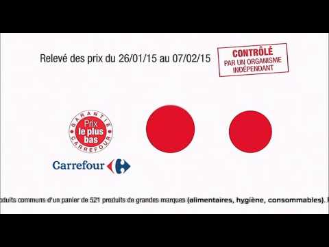 Top publicités France 2015 - Carrefour