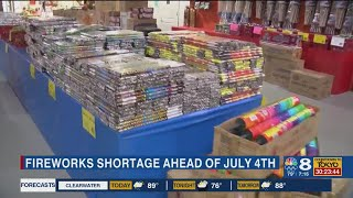 Tampa Bay fireworks suppliers warn of shortage during 4th of July