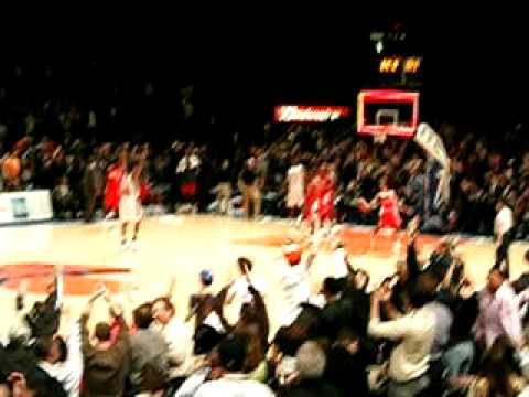 Tim Thomas Makes A Buzzer Beater