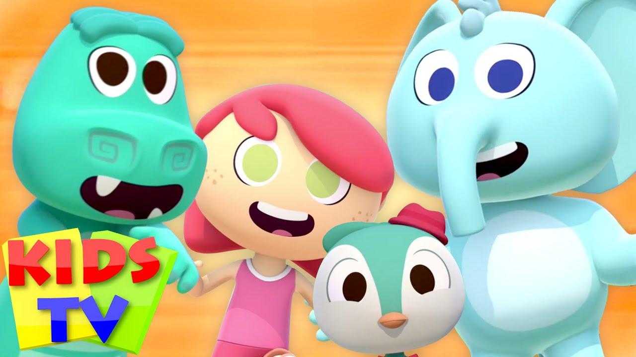 The Animal Dance   Zoo Animals   Funny Animal Cartoon   Sing and Dance   Nursery Rhymes   Kids Tv