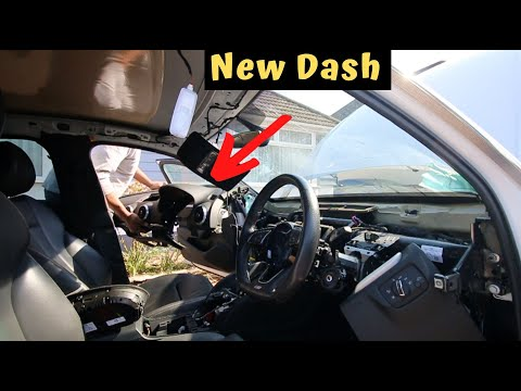 Fitting A New Dashboard In My Audi S3