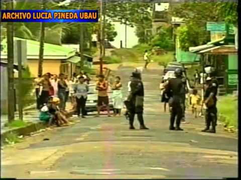 Masacre policial en Bluefields