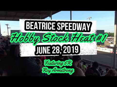 06/28/2019 Beatrice Speedway Hobby Stock Heat #1