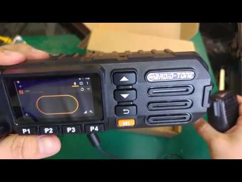 Radio Tone RT5  Android Zello PTT mobile radio - quick look at car network radio