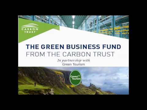 Carbon Management in Tourism Webinar - Green Tourism and The Carbon Trust