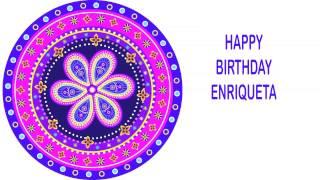 Enriqueta   Indian Designs - Happy Birthday
