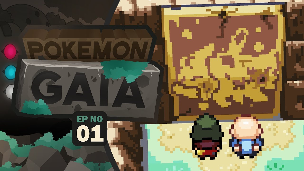 IT'S FINALLY COMPLETE! - Pokemon Gaia: Part 1 Rom Hack Gameplay Walkthrough  GBA