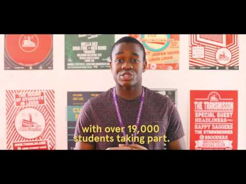 Short Guide to Student Activities - This Is Leeds 2016