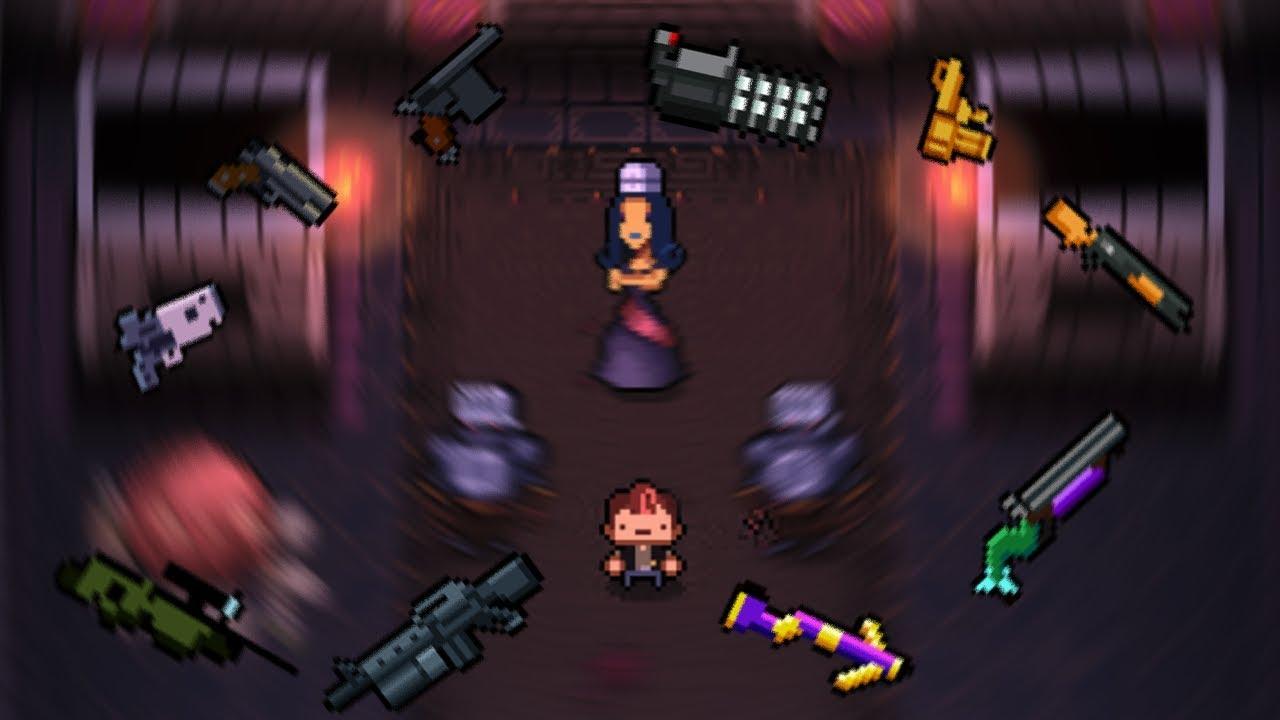 Enter the Gungeon #17 - Sorceress Gun Challenge - YouTube