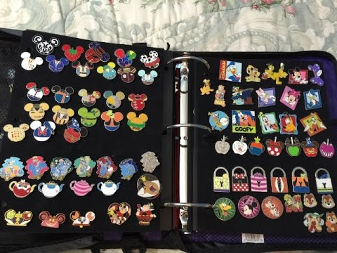 DISNEY PIN COLLECTION 2016 - YouTube