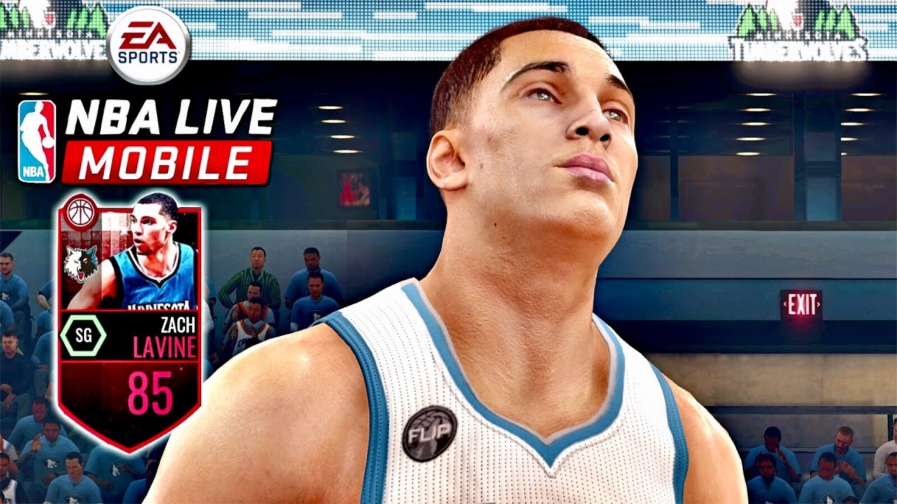 NBA Live Mobile 17 | 🏀🔥85 Elite Zach Lavine & Lebron James Gameplay! - YouTube