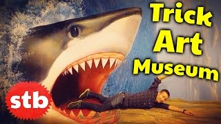 Trick Art Museum in Tokyo, Japan // SoloTravelBlog