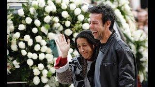 La madre de Gabriel tras el funeral: