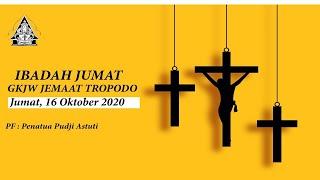 LIVE Ibadah Keluarga GKJW TROPODO / 16 OKTOBER 2020
