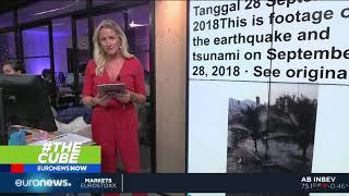 Video #TheCube | New video shows moment tsunami hit Palu, Indonesia download MP3, 3GP, MP4, WEBM, AVI, FLV November 2018
