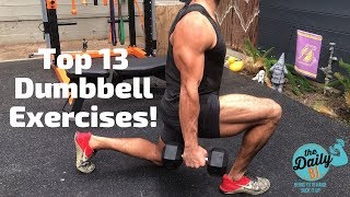 Burn fat now 🔥 http://tdbj.me/ the top 13 dumbbell moves to & build muscle from bj gaddour, former men's health fitness director and metashre...