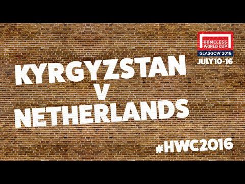 Kyrgyzstan v Netherlands l Group B #HWC2016