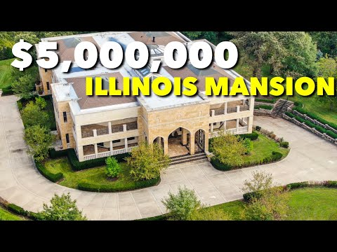 Touring One Of Biggest Homes In The Chicago Suburbs! **Burr Ridge**