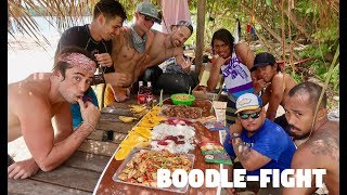 HOW TO EAT FILIPINO FOOD WITH THE FIGHTER BOYS... (Surigao Del Sur, Mindanao)