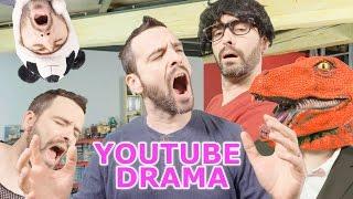 Raptor Dissident - Vulgarité - SJW - Censure - Clash - Mathieu Sommet - Youtube Drama