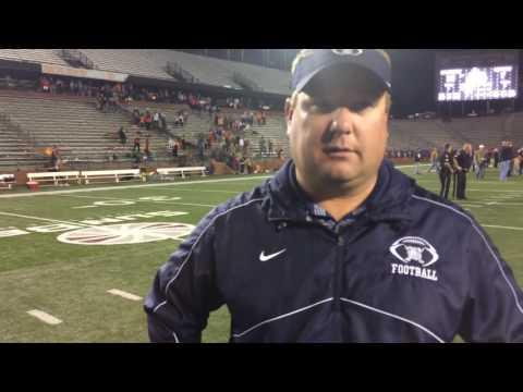 Matt E ICE Post Game Interview: Head Coach Josh Wright of the Bessemer Academy Rebels.