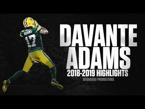 Davante Adams 2018-2019 Highlights