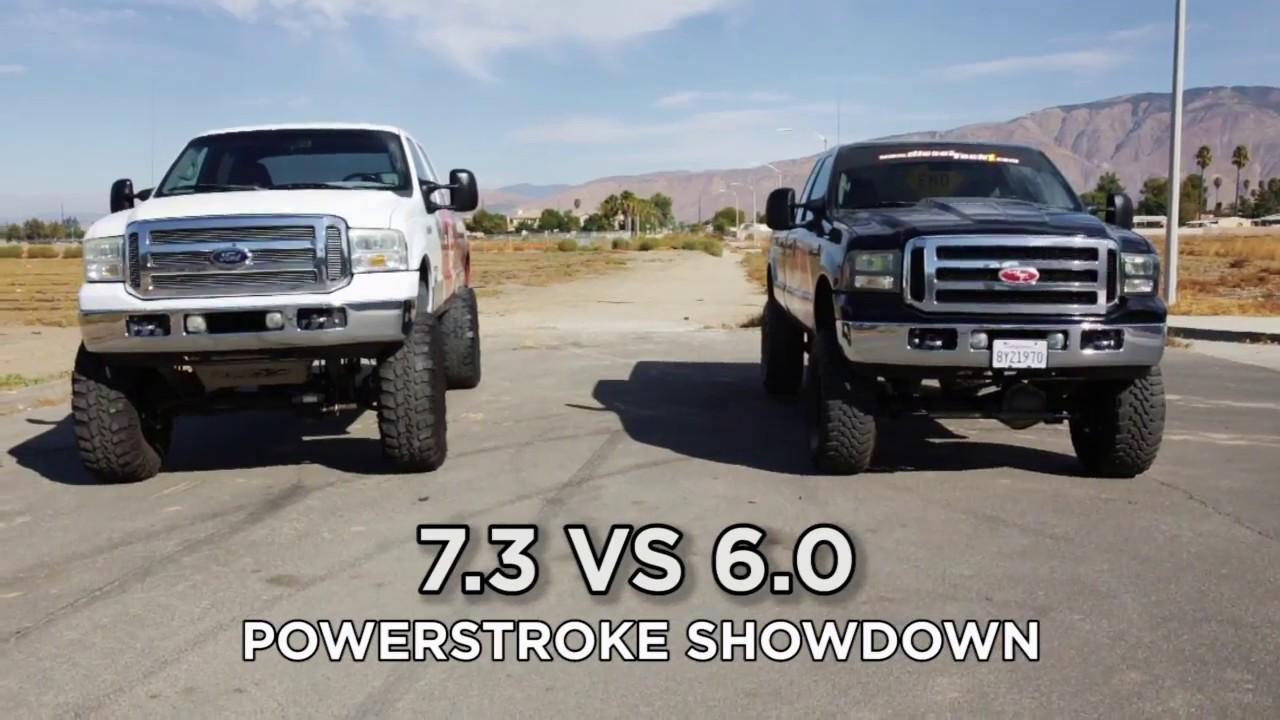 Ford Powerstroke Showdown 7 3 Vs 6 0 Which Is Best Youtube