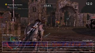 Shadow of Mordor: PS3 Extended Frame-Rate Test