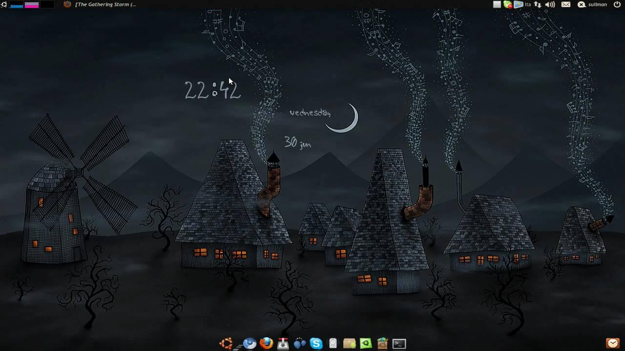 clock ubuntu 10.04
