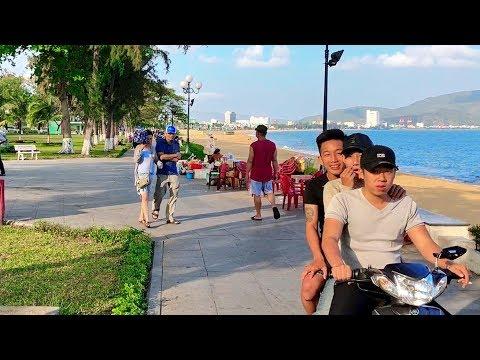 IMPRESSIONS FROM QUY NHON VIETNAM VLOG 18 / VIETNAM TRAVEL VIDEO MARCH 2018
