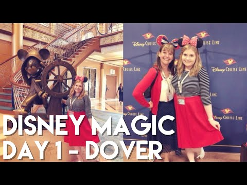 Day 1 - Dover | Disney Magic Northern Europe Cruise