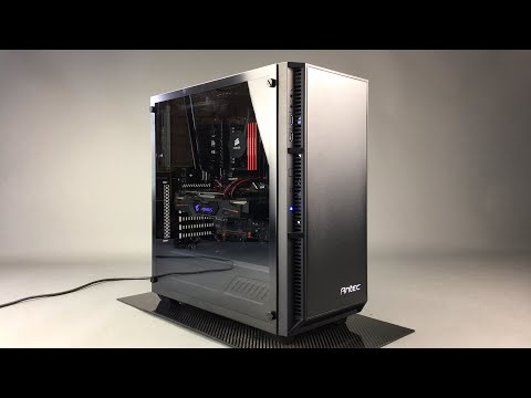 Antec P8 Mid Tower Tempered Glass Case Review Youtube