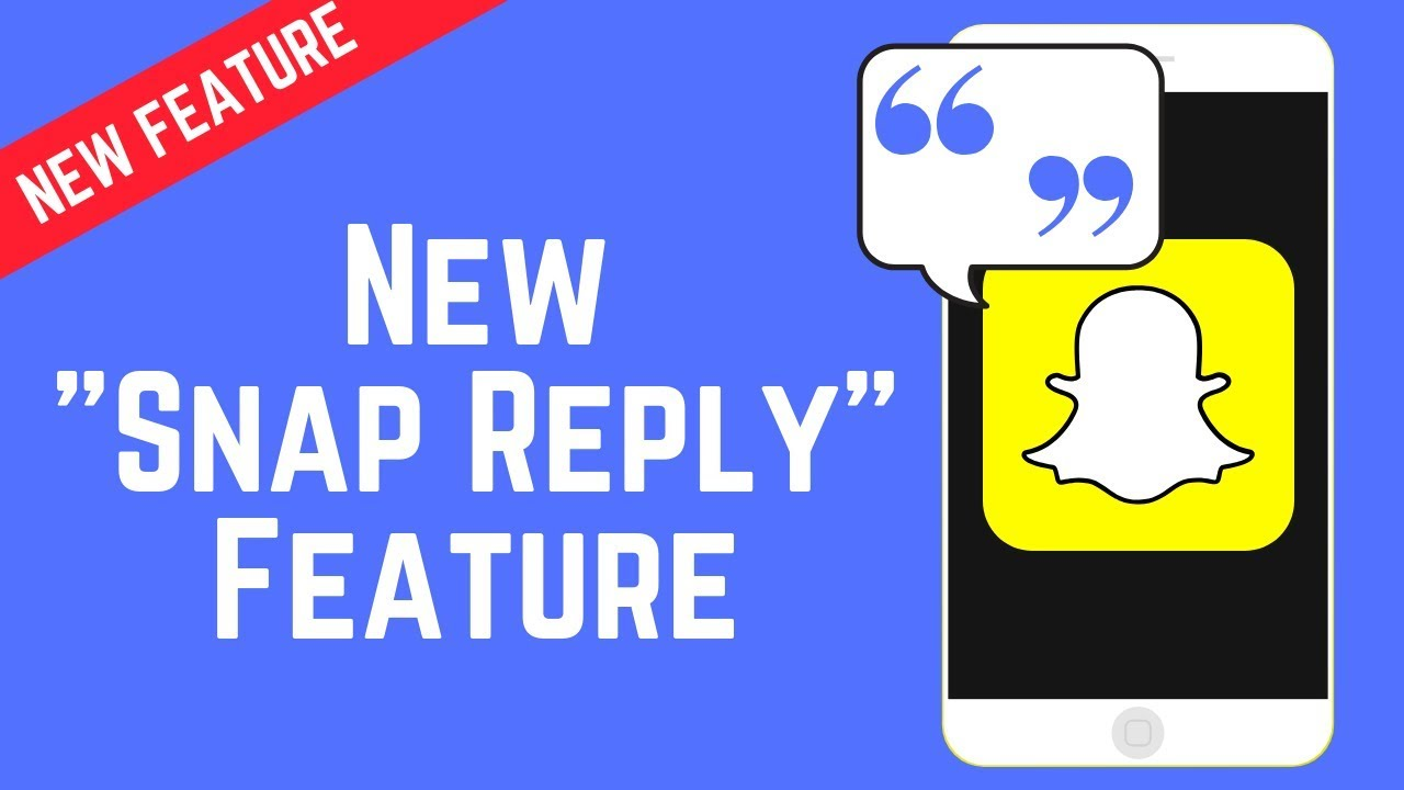 Quote Text Snaps in Picture/Video Replies – New Snap Reply Feature