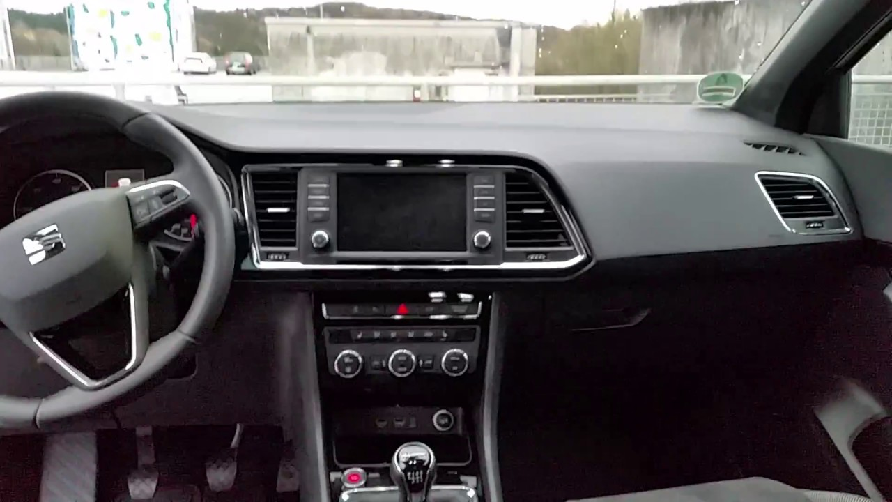 seat ateca 2016 interieur youtube