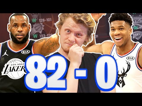 CAN TEAM LEBRON OR TEAM GIANNIS GO 82-0? NBA 2K20