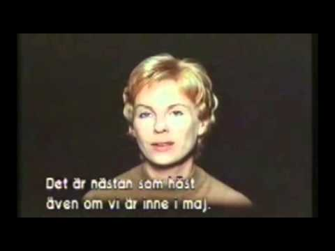 "Bibi Andersson in Ingmar Bergman's ""the Touch"""