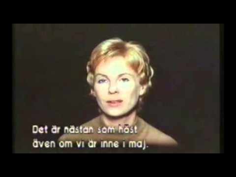 Bibi Andersson in Ingmar Bergman's