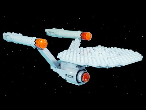 How to Build LEGO USS Enterprise | LEGO Star Trek