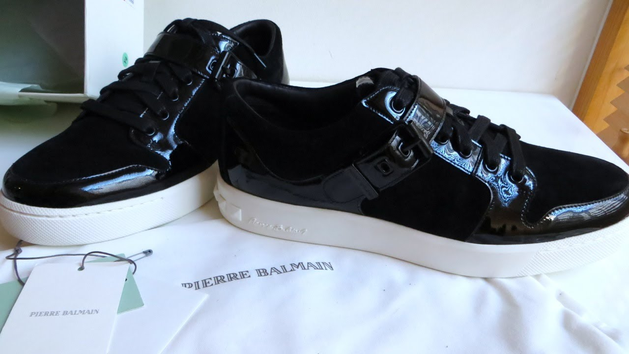 Unboxing Review For Men Pierre Balmain Sneakers Leather Patent UwqExg8t