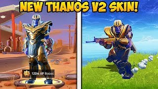 PLAYING AS NEW *THANOS V2* SKIN! - Fortnite Funny Fails and WTF Moments! #309