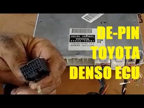 De-Pinning Toyota ECU Harness Connector Terminal