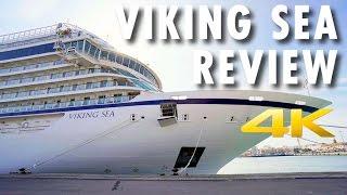 Viking Sea Tour & Review ~ Viking Ocean Cruises ~ Cruise Ship Tour & Review [4K Ultra HD]