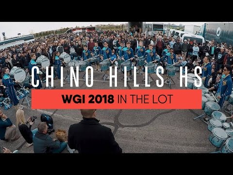 #InTheLot With: Chino Hills HS - WGI Finals 2018