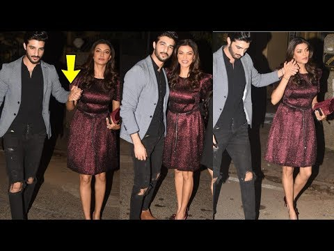 Sushmita Sen walk hand in hand with young bf Rohmal Shawl and look so happy