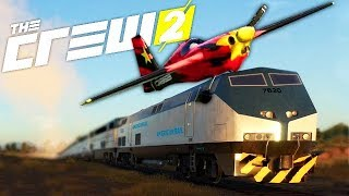 ON ATTERRIT SUR LE TRAIN ! (THE CREW 2 COOP Fun)